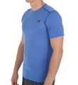 New Balance Pindot Flux Zip Back Pocket Performance Shirt MT61034