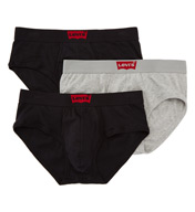 Levis House Mark 100% Cotton Briefs - 3 Pack ULV6HM03