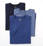 Polo Ralph Lauren Slim Fit Cotton Crewneck T-Shirts - 3 Pack LSCN