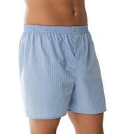 Zimmerli Cotton Woven Shadow Stripe Boxers 8002